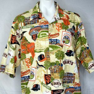 Giants 2012 World Series Hawaiian Size 2XL